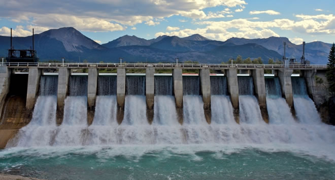 ... highest level of production for the last 45 days in hydro power plant
