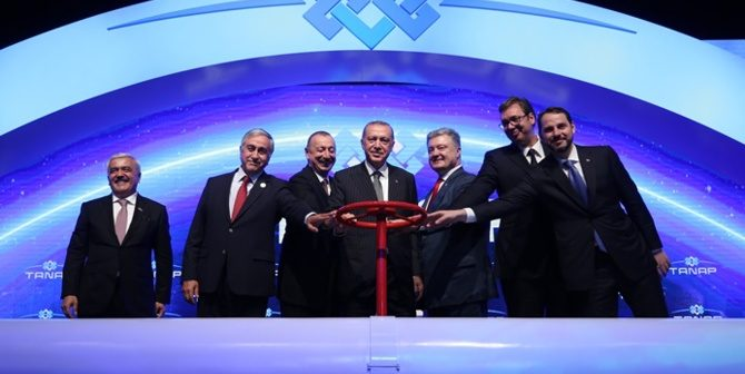 Trans Anadolu Doğalgaz Boru Hattı Projesi (TANAP) açıldı!