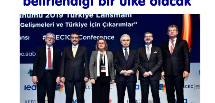"""(Türkçe) """"Türkiye, enerjide fiyatın da belirlendiği bir ülke olacak"""""""